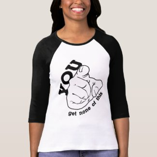 Get None (4 colors) 3/4 Sleeve Raglan shirt