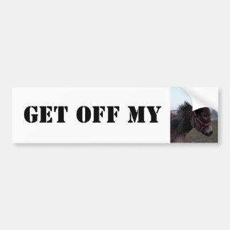 Get off my Donkey! Bumper Sticker Car Bumper Sticker