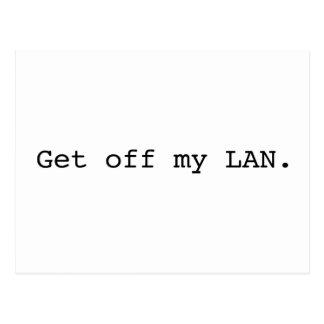 Get Off My LAN. Postcard
