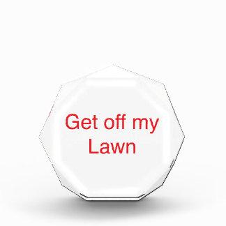Get off my Lawn Award