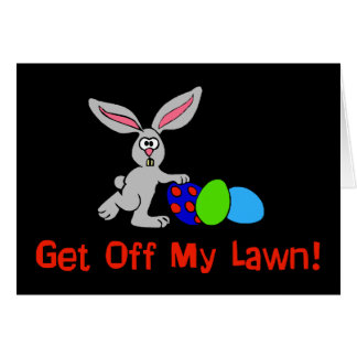 Get Off My Lawn Card