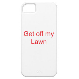Get off my Lawn iPhone SE/5/5s Case
