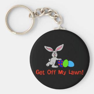 Get Off My Lawn Key Chain