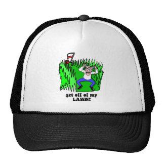 get off of my lawn trucker hat