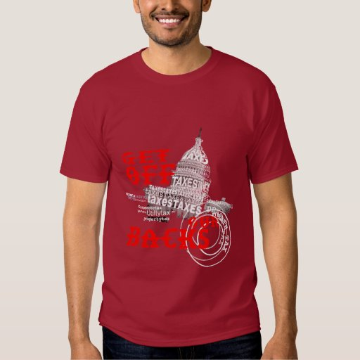Get Off our Backs Tee Shirts