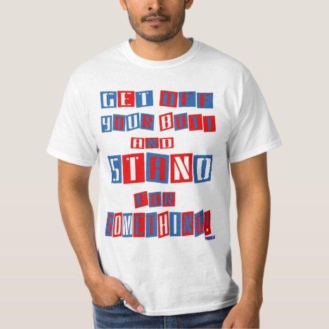 Get Off Your Butt Bargain (alt) T-Shirt