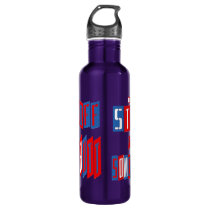 Get Off Your Butt Stainless Steel Water Bottle