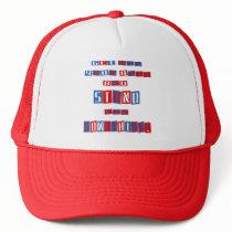 Get Off Your Butt Trucker Hat