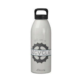 Get On A Bicycle Drinking Bottles