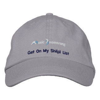 Get On My Shi(p) List Cap Embroidered Baseball Caps