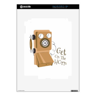 Get On The Horn Skins For iPad 2