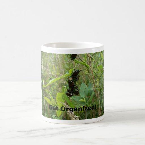 Get Organized Coffee Mugs