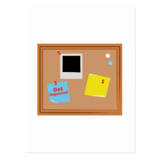 Get Organized Postcard