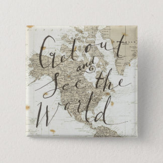 Get Out And See The World Quote Button