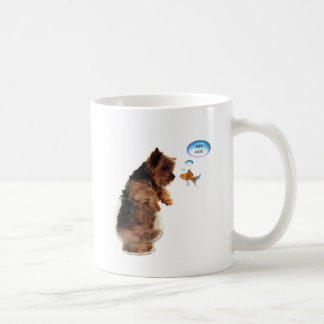 Get out! classic white coffee mug