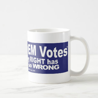 Get Out DEM Votes - shirts, skins, and more shirts Mug