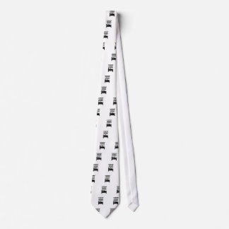 Get Out of Bed Neck Tie