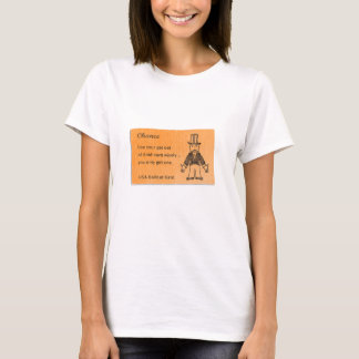 Get Out Of Debt Card T-Shirt