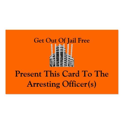 Jail Business Card Templates | BizCardStudio