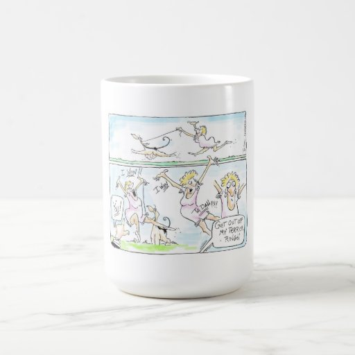 Get Out of My Terrier Ring Mug