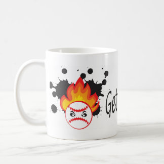 Get out of my way baseball coffee mug
