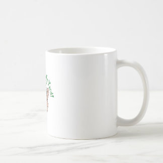 Get Out Of My Yard Classic White Coffee Mug