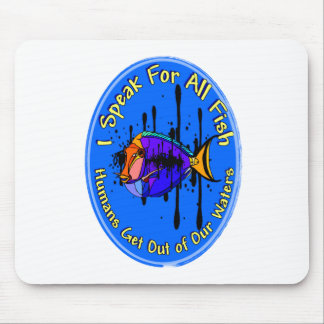 Get Out Of Our Waters Mouse Pads
