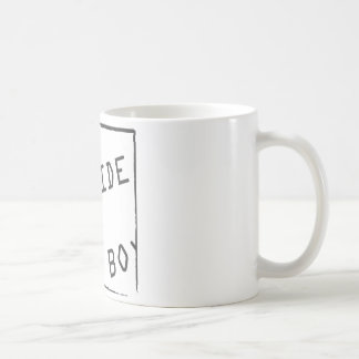 Get out of that box coffee mug