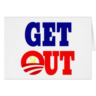 Get Out of the White House Card