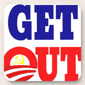 Get Out of the White House Drink Coaster