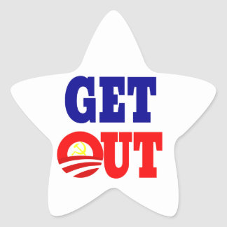 Get Out of the White House Star Sticker