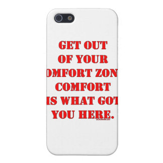 Get Out of Your Comfort Zone! iPhone SE/5/5s Case