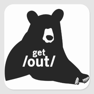 Get Out Stickers