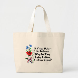 GET OUT THE VOTE TOTE BAGS