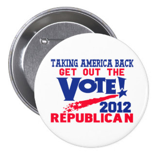 Get Out The Vote Button