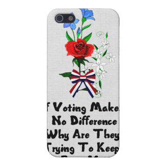 GET OUT THE VOTE CASE FOR iPhone SE/5/5s