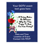 GET OUT THE VOTE FULL COLOR FLYER