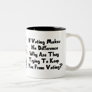 GET OUT THE VOTE COFFEE MUGS