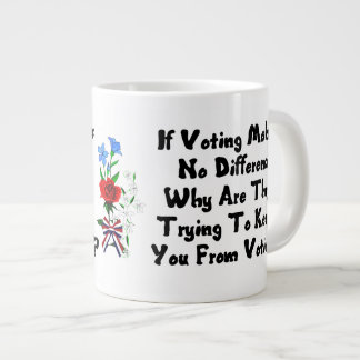 GET OUT THE VOTE EXTRA LARGE MUG