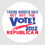 Get Out The Vote Sticker