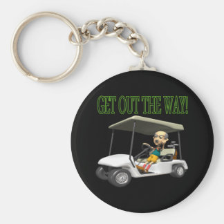 Get Out The Way Keychain