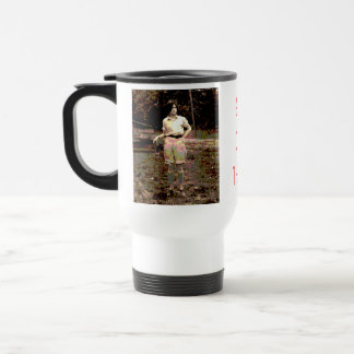 """Get Out There"" Travel Mug"