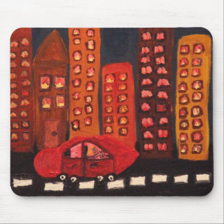 GET OUT TOWN MOUSE PAD