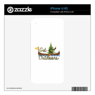 Get Outdoors Decals For The iPhone 4S