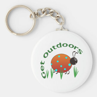 GET OUTDOORS KEY CHAIN