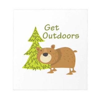 Get Outdoors Notepads