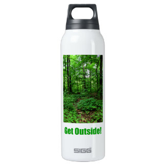 Get Outside! 16 Oz Insulated SIGG Thermos Water Bottle