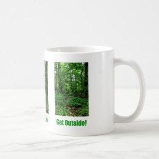 Get Outside Classic White Coffee Mug