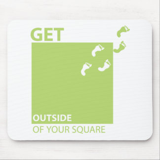 Get outside of your square mouse pad
