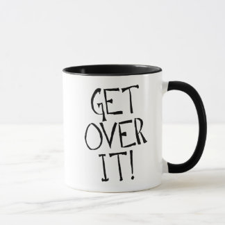 get over it 11 oz Ringer Mug